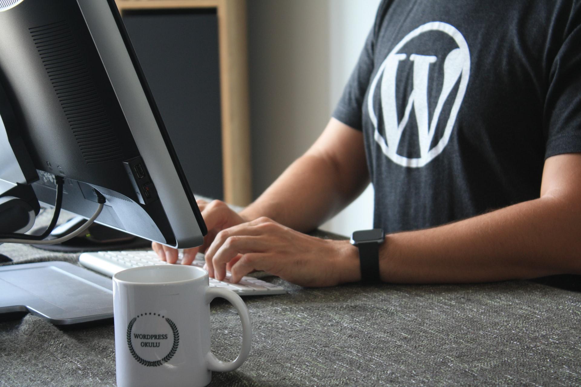 web en Wordpress